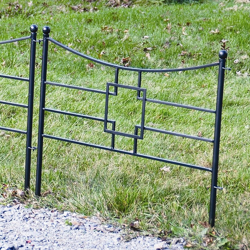 31.5 in. x 36 in. Square-on-Squares Fence Section