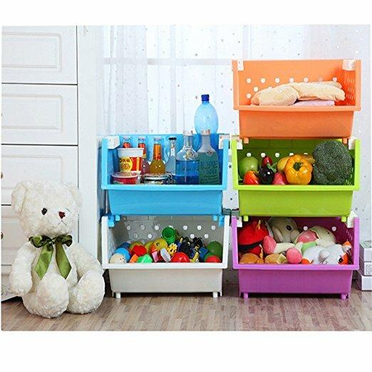 Ordinaire Holte 3 Baskets Kids Toy Organizer