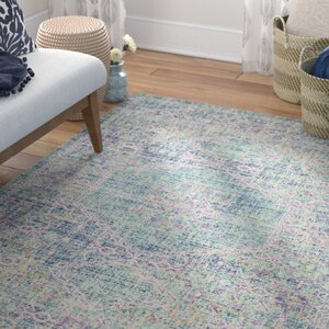 Bangou Bluepurple Area Rug Joss Main