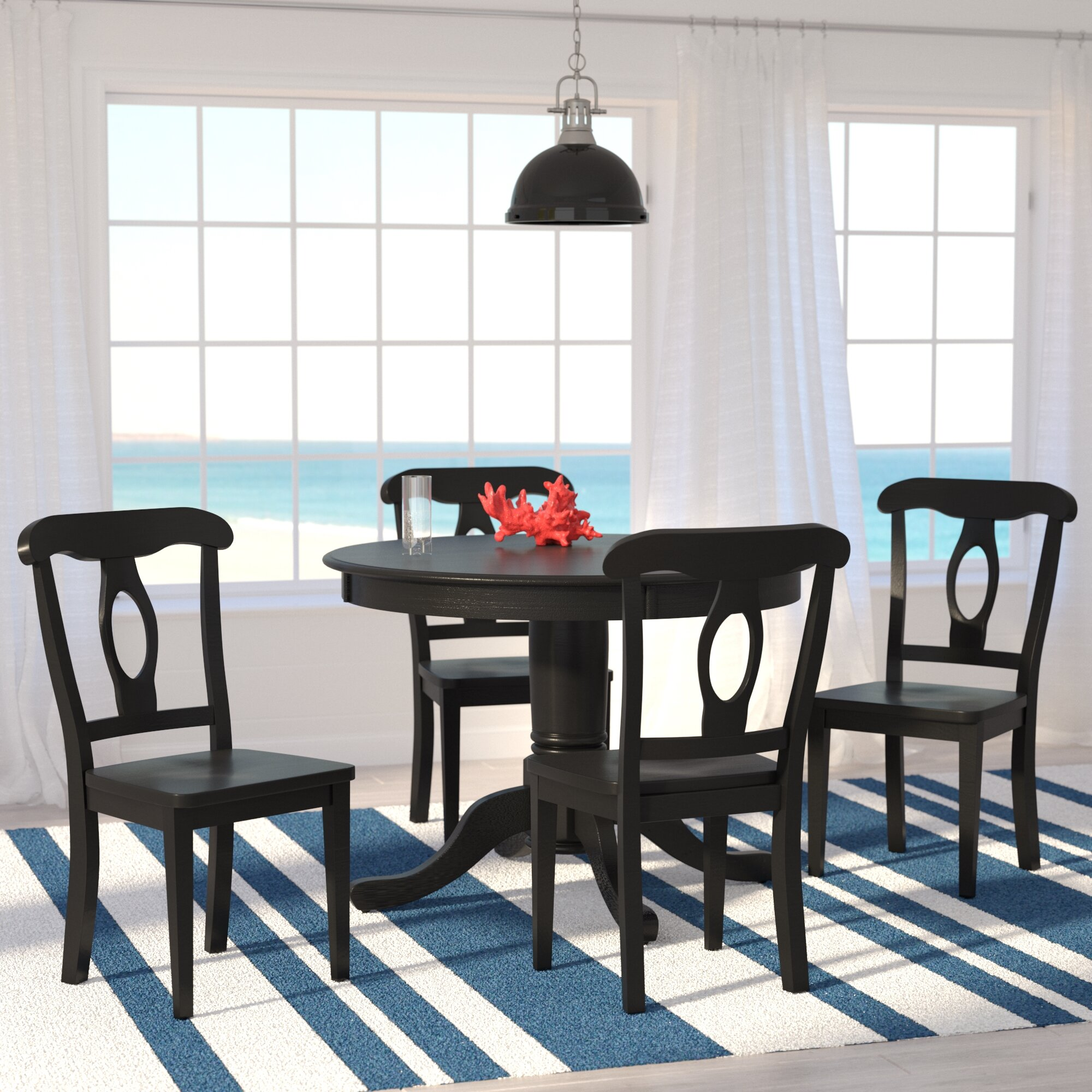 Beachcrest Home Gaskell 5 Piece Dining Set & Reviews | Wayfair