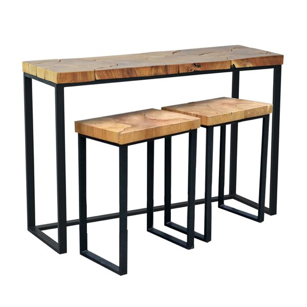 Brayden Studio Hoekstra Console Table And Stool Set