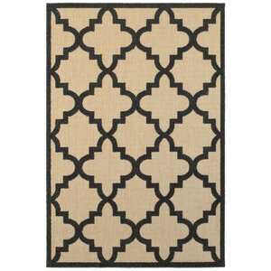 Bellwood Sand/Charcoal Outdoor Area Rug