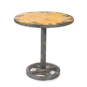 Darter Round Wheel End Table by Trent Austin Design