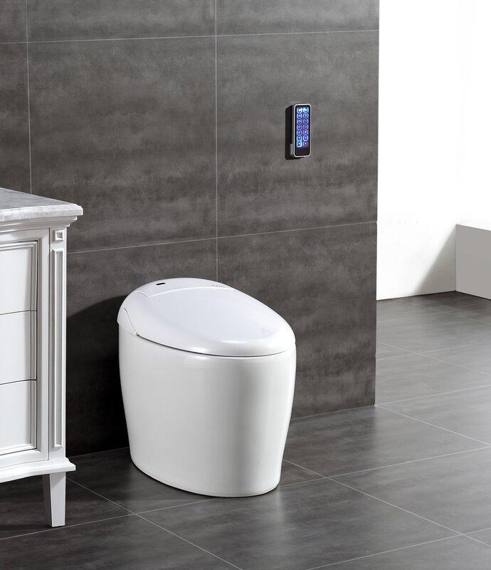Tuva Smart Toilet 20  Floor Mount Bidet. Tuva Smart Toilet 20  Floor Mount Bidet   Reviews   AllModern