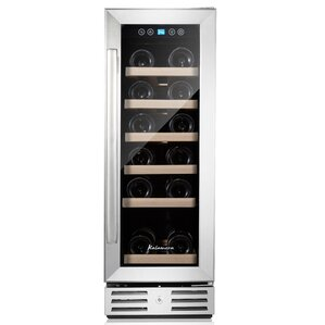 18 Bottle Single Zone Built-In Wine Cooler by Kalamera