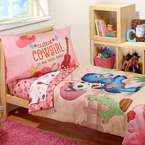Sheriff Callie - Cutest Cowgirl 4 Piece Toddler Bedding Set