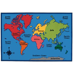 Kids rugs youll love wayfair value plus world map area rug gumiabroncs