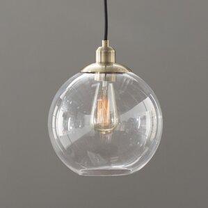 gehry 1light glass pendant