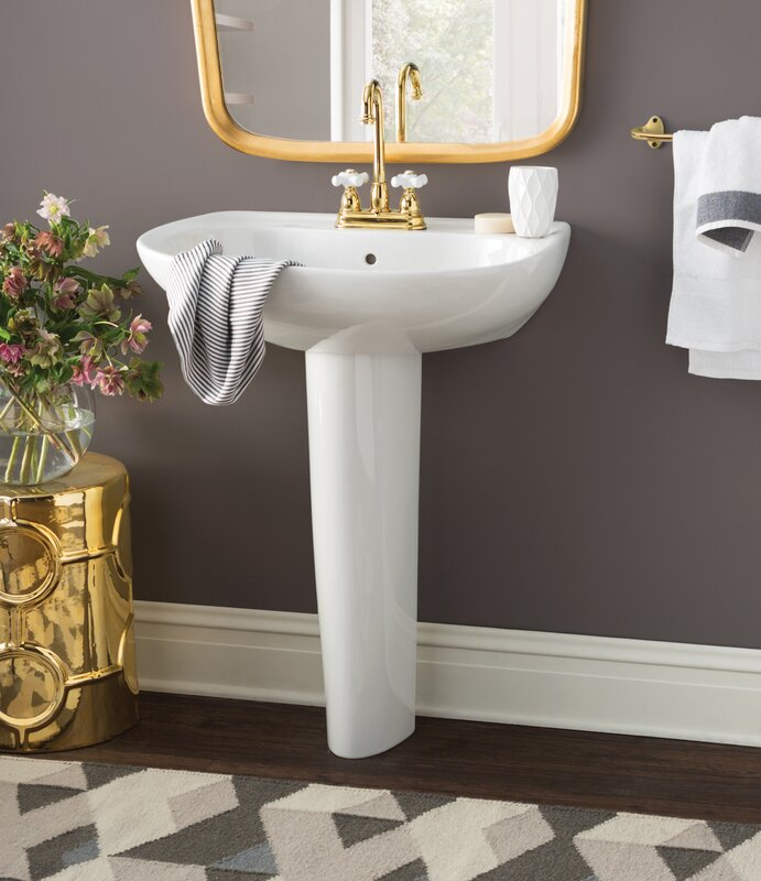 Toto Prominence Pedestal Bathroom Sink With Overflow Reviews - Toto bathroom