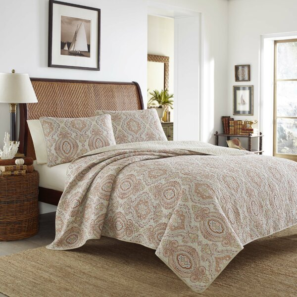 Tommy Bahama Bedding Turtle Cove Reversible Quilt Set By Tommy Bahama  Bedding U0026 Reviews   Wayfair