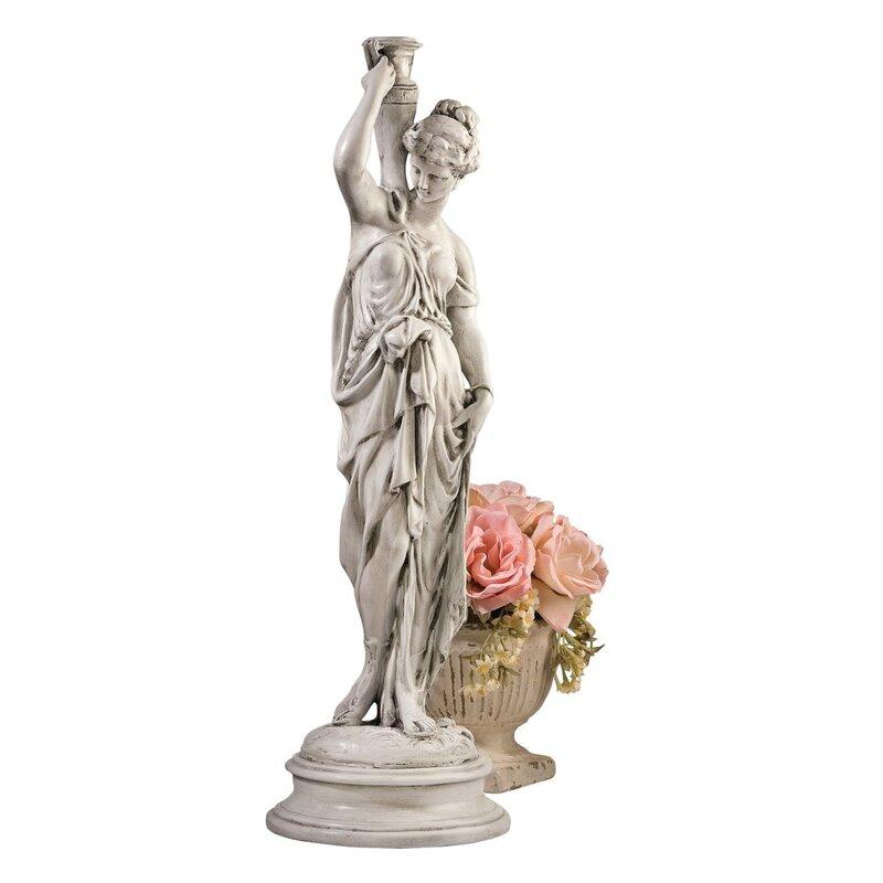 Hebe Dione, The Divine Water Goddess Garden Statue