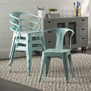 Ellery Metal Arm Chair (Set Of 4)