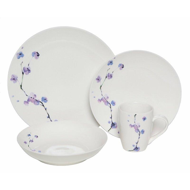 30f41270e915 Melange Premium Zen 32 Piece Dinnerware Set, Service for 8 & Reviews    Wayfair