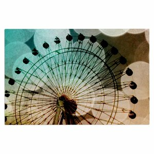 Buy 'Ferris Wheel Silhouette' Doormat!