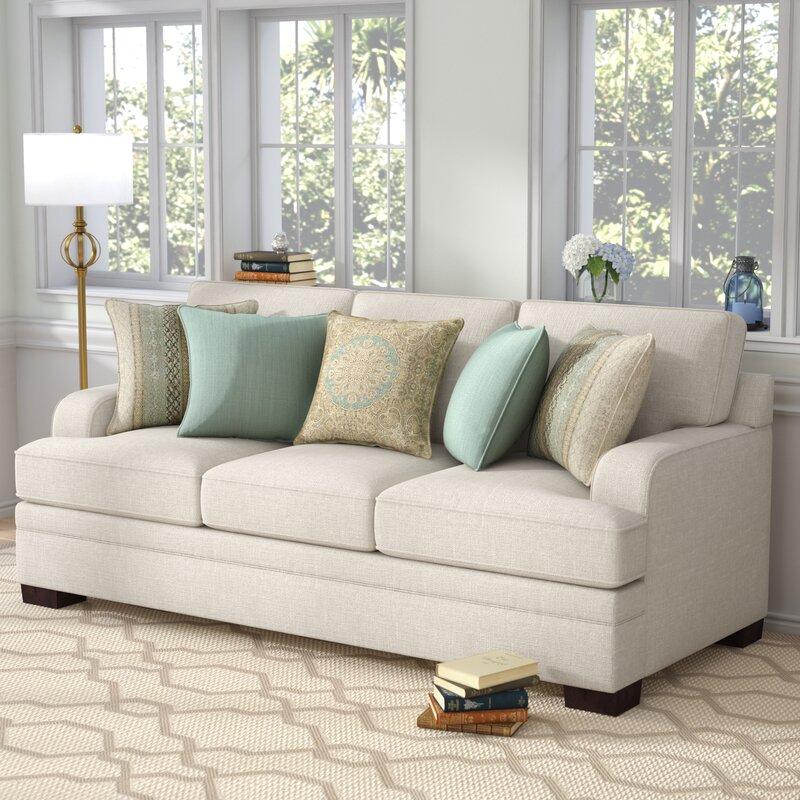 Simmons Upholstery Hattiesburg Parchment Sofa Reviews Joss Main