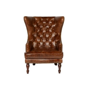 Wingback Leather Chairs Youu0027ll Love | Wayfair