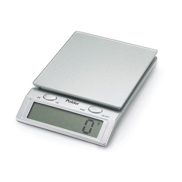 Polder Kitchen Scale: Polder Products LLC Digital Glass Top Kitchen Scale