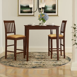 Quinlan 3 Piece Counter Height Bistro Set