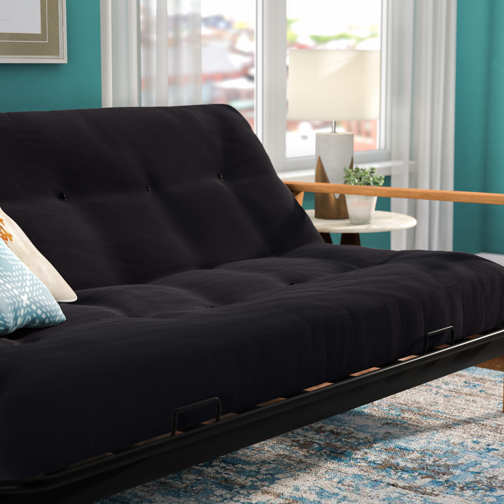 vitality 6   full size solid futon mattress futon mattresses you u0027ll love   wayfair  rh   wayfair