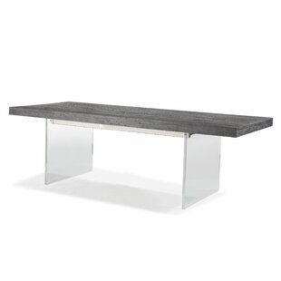 Modern contemporary lucite nesting tables allmodern bonneville dining table watchthetrailerfo