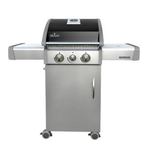 Buy Triumph 3-Burner Propane Gas Grill with Cabinet!