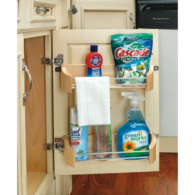 Rev A Shelf Cabinet Door Mount Storage Tray Wayfair