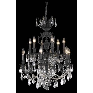 Canary 12-Light Crystal Chandelier