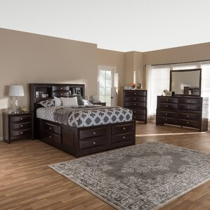 Petrick Queen Platform 6 Piece Bedroom Set