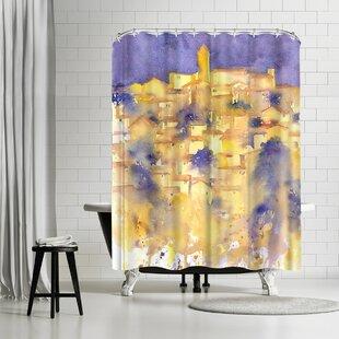 Rachel McNaughton Splashy Tuscany Shower Curtain