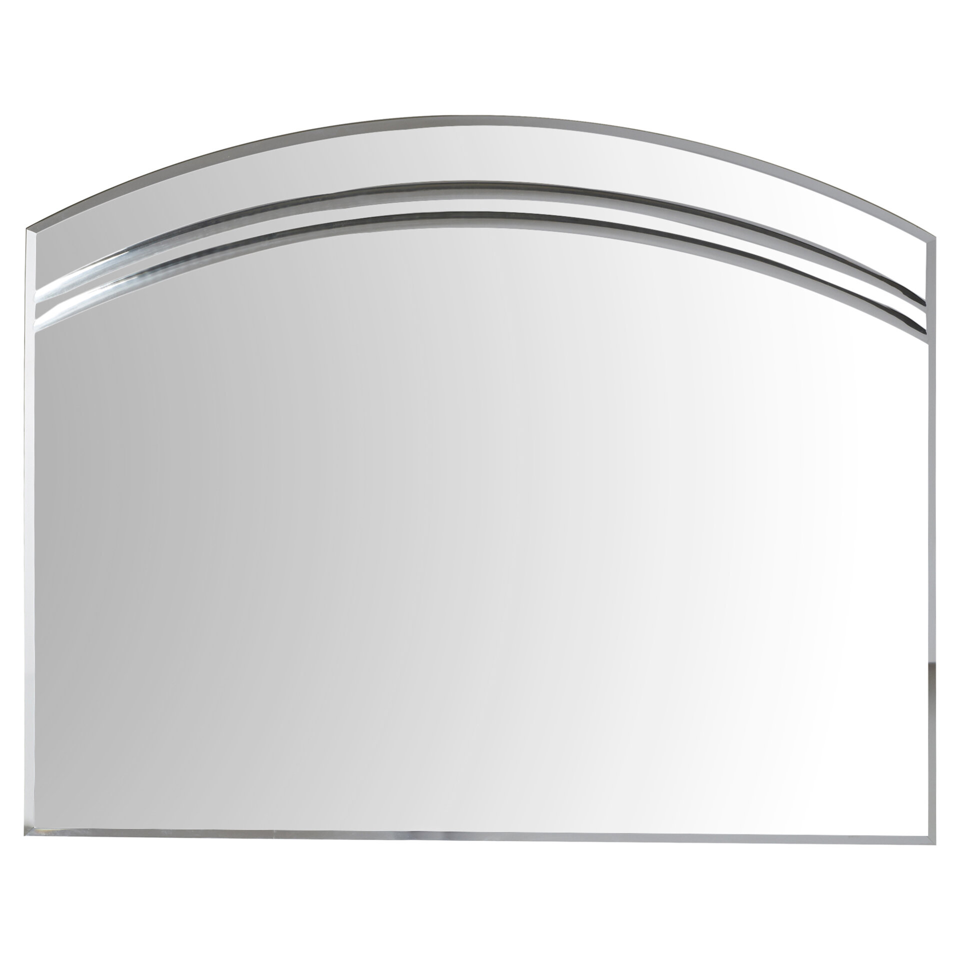 Wallingford Large Frameless Wall Mirror & Reviews | Joss & Main