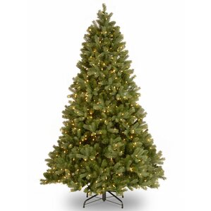 douglas fir 75 green downswept artificial christmas tree with 750 dual color led lights - Unique Artificial Christmas Trees