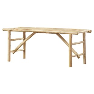 Whobrey Wood Folding Bench