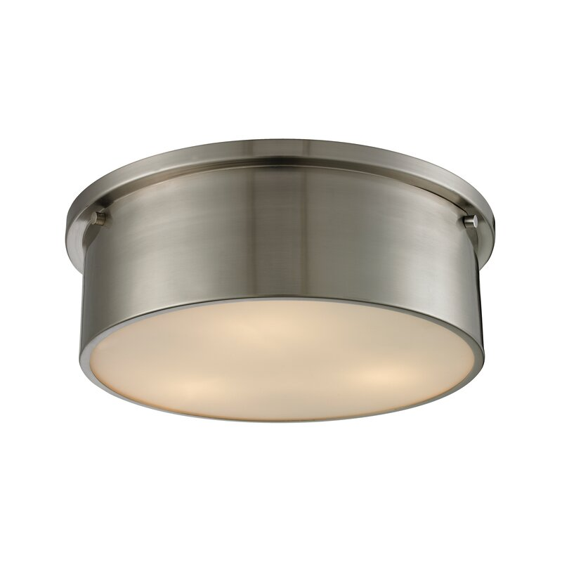 Simpson 3 light flush mount