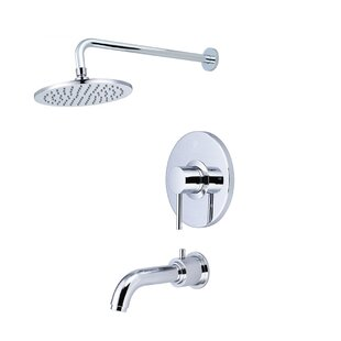 Motegi Single Handle Tub And Shower Faucet With Diverter