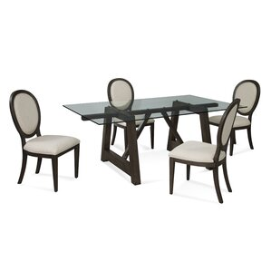 Dartington 5 Piece Dining Set by Red Barrel Studio