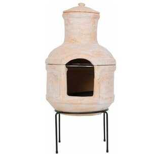 Redfire Lima Clay Wood Burning Outdoor Fireplace
