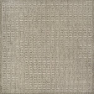 Westlund Champagne/Taupe Indoor/Outdoor Area Rug