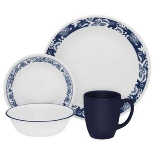 Livingware True 16 Piece Dinnerware Set Service for 4  sc 1 st  Wayfair & Christmas Dinnerware Sets Youu0027ll Love | Wayfair