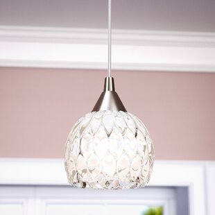 Leton 1 Light Globe Pendant