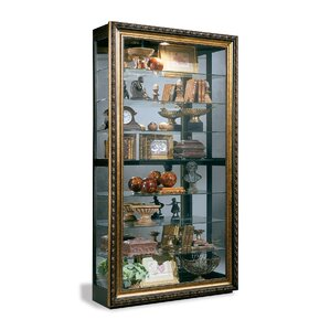 Renoir Museum Lighted Curio Cabinet by Ph..
