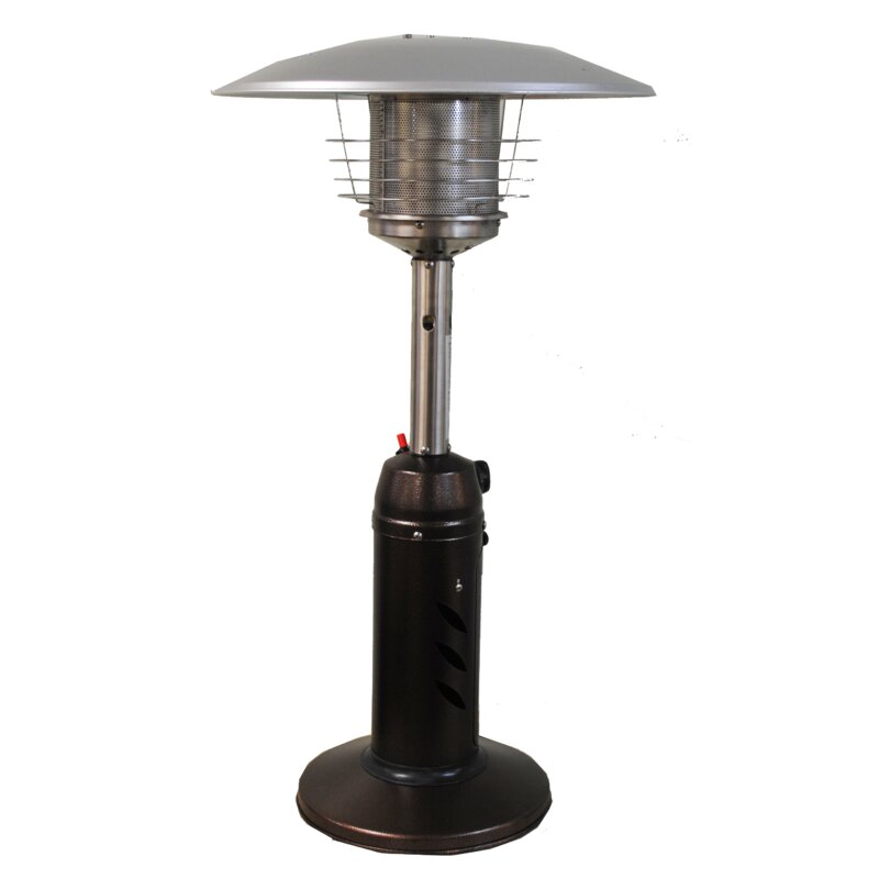 Round 11 000 Btu Propane Tabletop Patio Heater