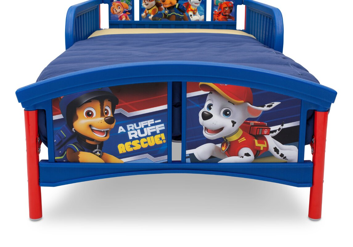 Nick Jr Paw Patrol Kids Bedroom Furniture Toddler 3d: Delta Children