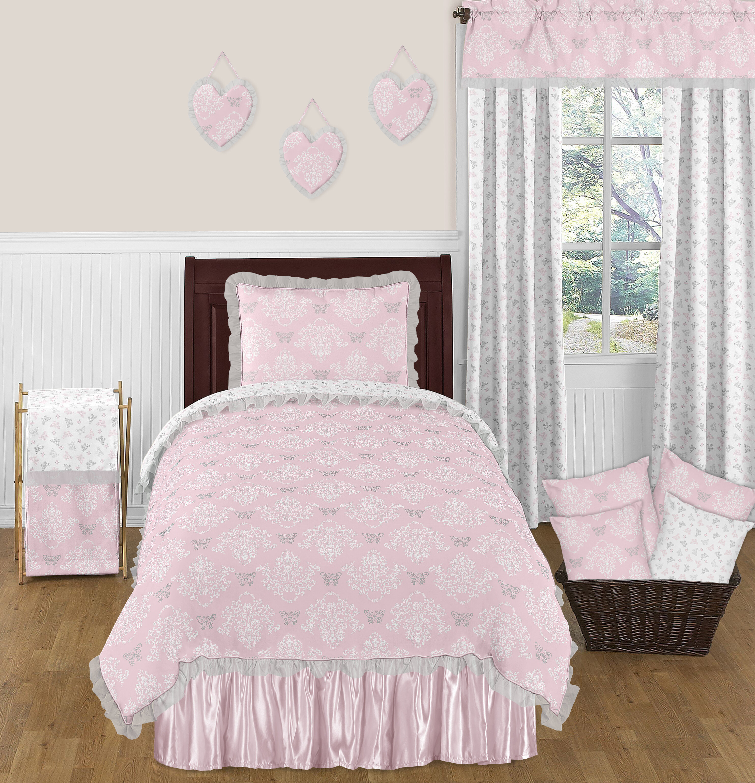 sets bedding decoration set blue of home queen full size purple king pink grey twin comforter
