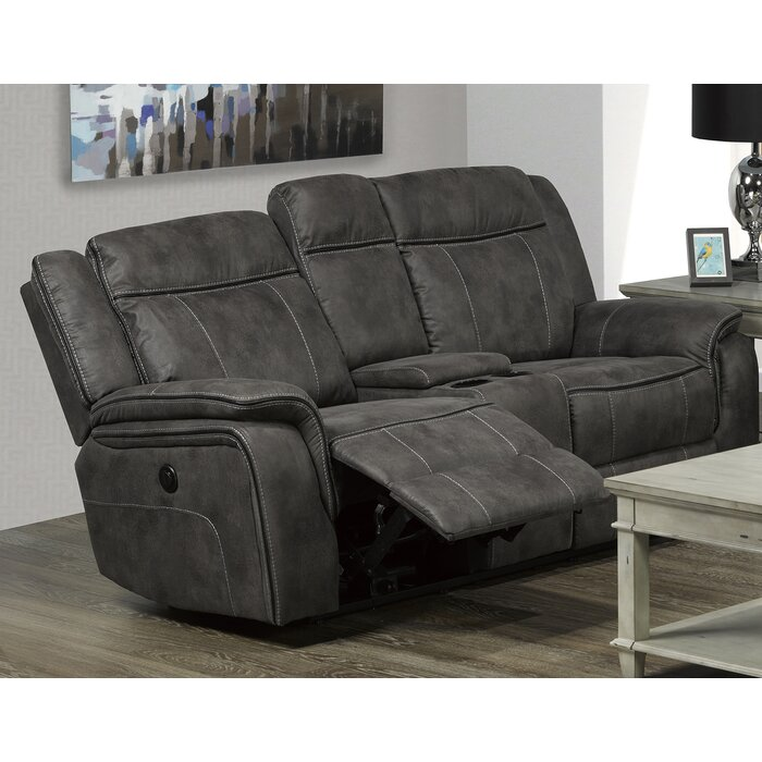 sp reclining designs gray aviemore modern i brown p loveseat