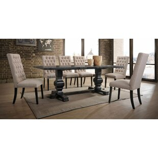 Demello 7 Pieces Dining Set