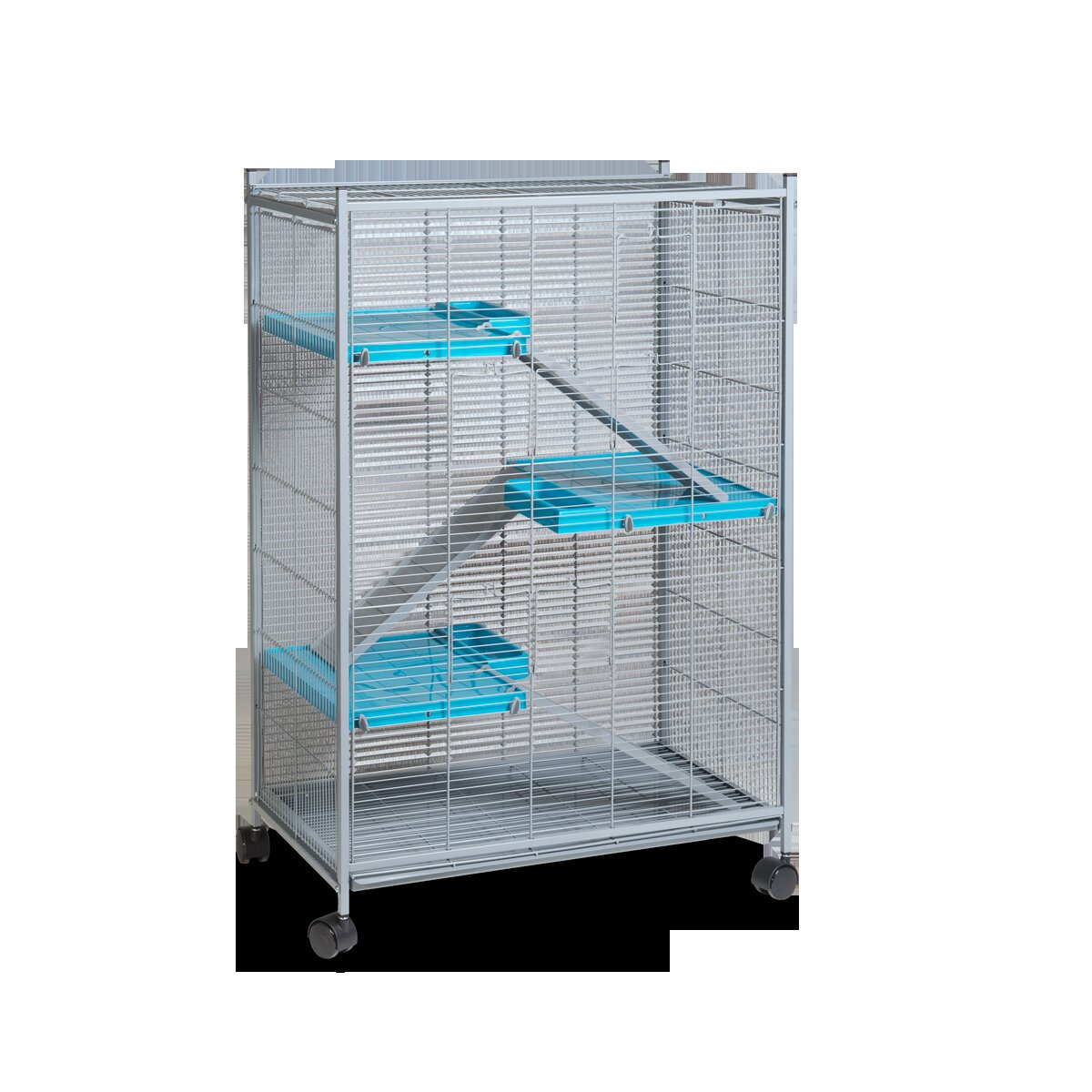 Voltrega Hamster Cage in Grey and Pistacho | Wayfair.co.uk