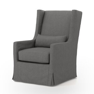 Swivel Wingback chair by dCOR design