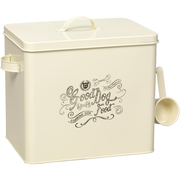 HouseofPaws Large Country Kitchen Dog Pet Food Storage Container | Wayfair