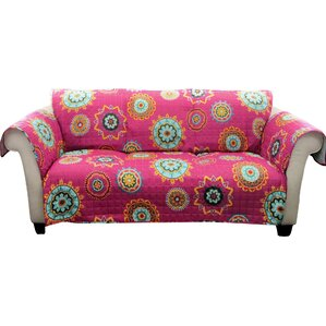 Mandy Box Cushion Sofa Slipcover by Bungalow Rose