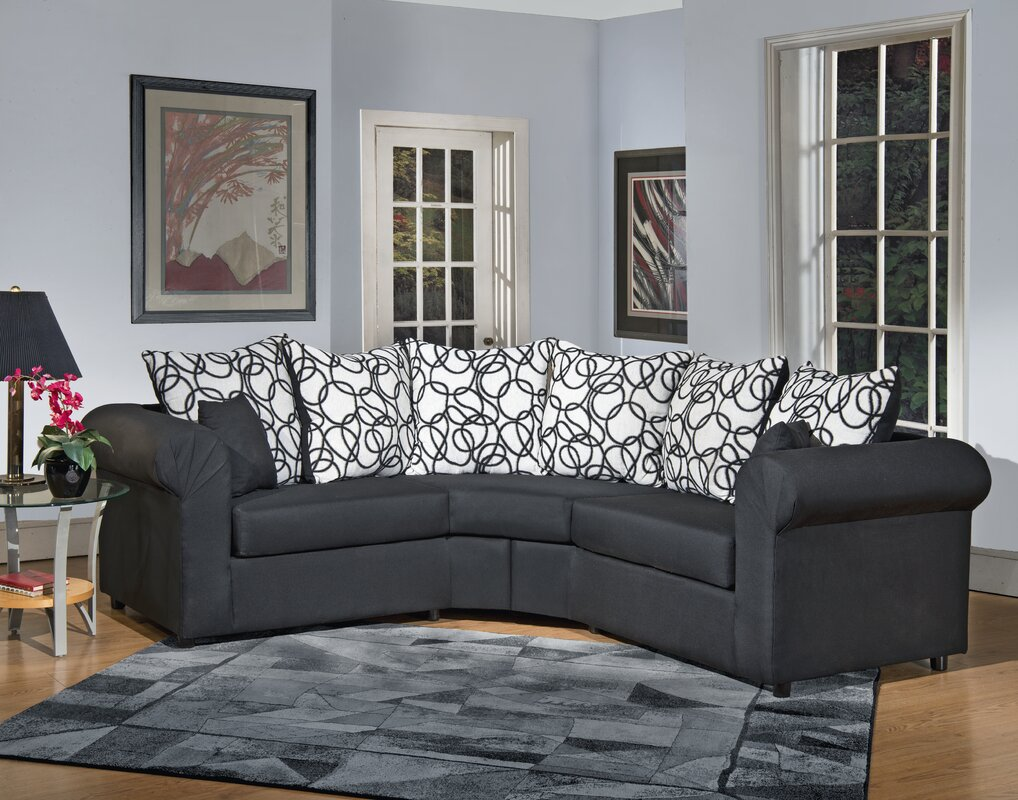 lila sectional reviews birch lane. Black Bedroom Furniture Sets. Home Design Ideas